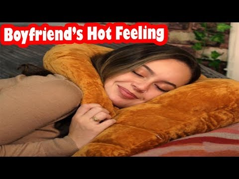 To Get Real Boyfriend Enjoyable Feeling Follow BOYFRIEND PILLOW