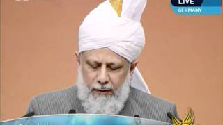 Islam in Germany, Address to Guests at Jalsa Salana Germany 2011 by Hadhrat Mirza Masroor Ahmad