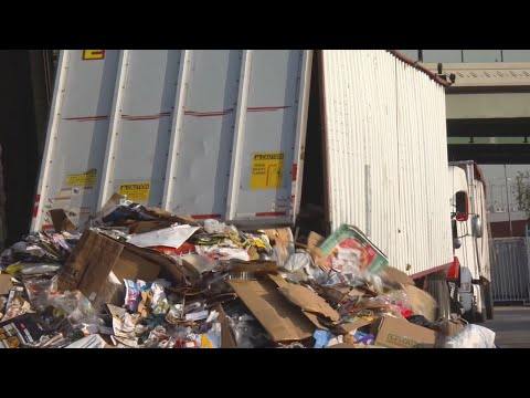 Recycling Companies Overwhelmed With Cardboard After Holiday Shipping