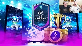 OUR CHAMPIONS LEAGUE PACK! 🔵🏆- COMPLETING ALL THE NEW UCL SBC! FIFA 19 Ultimate Team