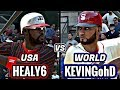USA VS INTERNATIONAL SQUADS AGAINST HEALY6!! MLB THE SHOW 17 DIAMOND DYNASTY