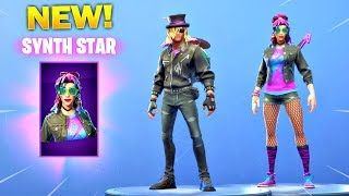 *NEW* SYNTH STAR & STAGE SLAYER SKINS in the Item Shop! (Fortnite Item Shop September 16)