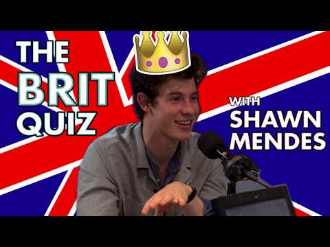 The Brit Quiz with Shawn Mendes!