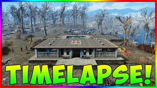 "Fallout 4 - ""The Slog"" Base Building Timelapse! (With Mods)"