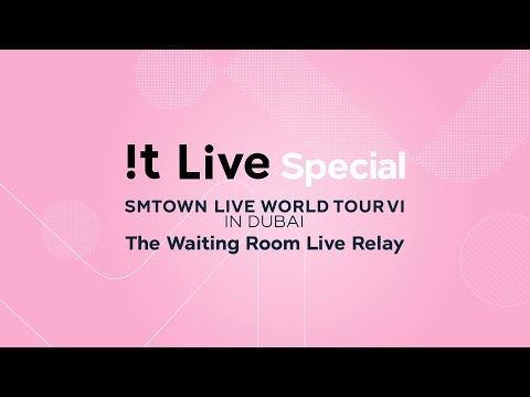 """!t Live(잇라이브) """"The Waiting Room Live Relay"""" Coming Soon"""