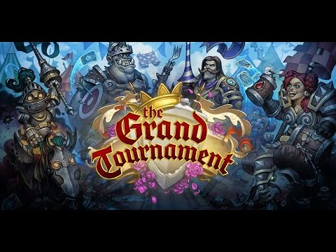 THE GRAND TOURNAMENT! Hearthstone Unboxing 50 Card Preorder! Pack Opening!