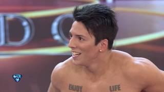 Agustín Reyero, el bailarín de Consuelo, impactó con un truco increíble
