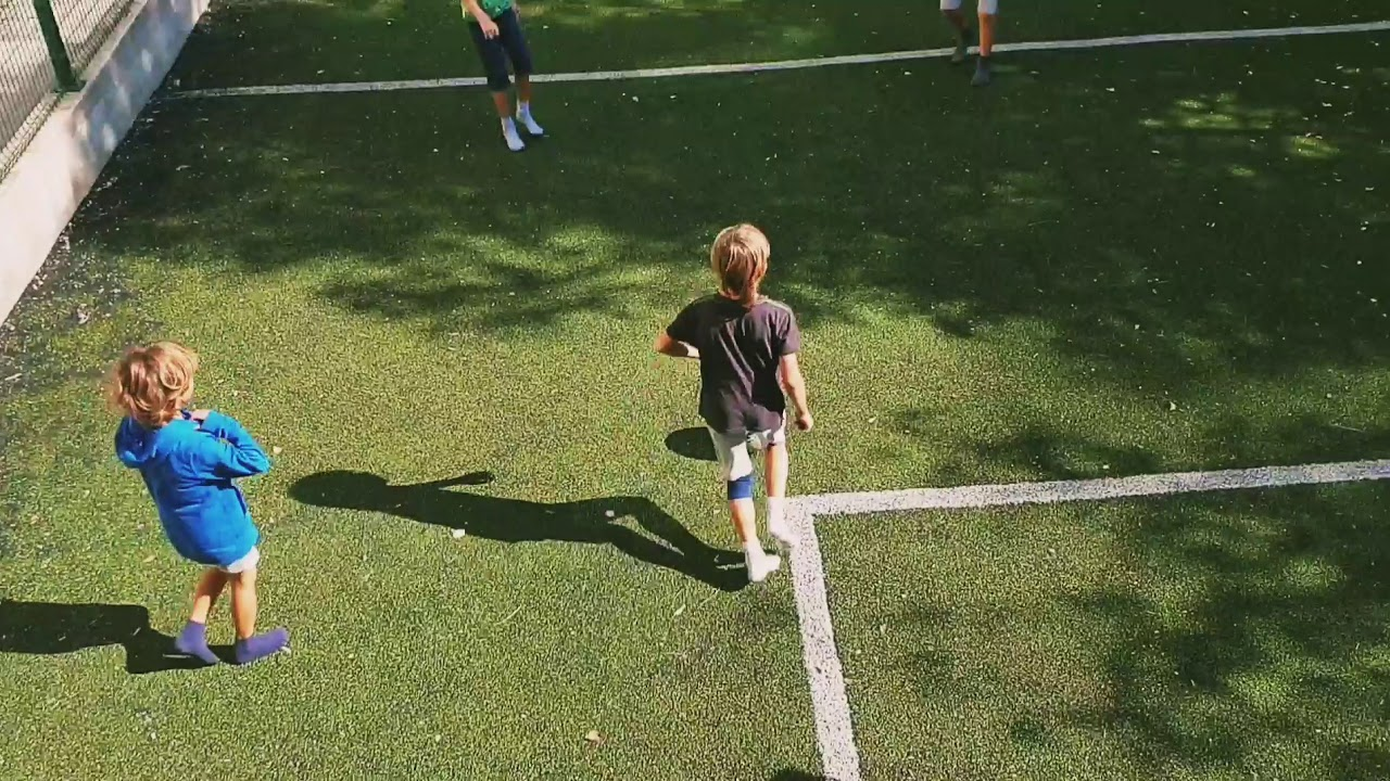 Backyard soccer - YouTube