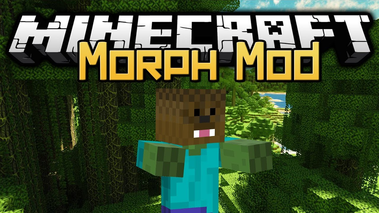 minecraft morph mod how to fly