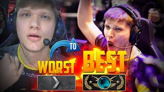 S1MPLES WORST TO BEST PLAYS! (FUNNY FAILS & INSANE MOMENTS)