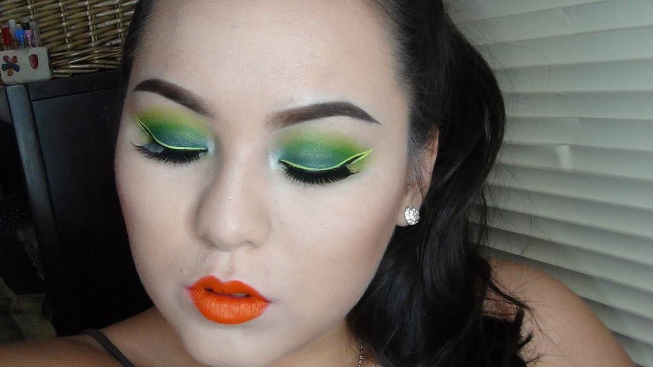 Ninja Turtle Makeup Tutorial 2014 - YouTube