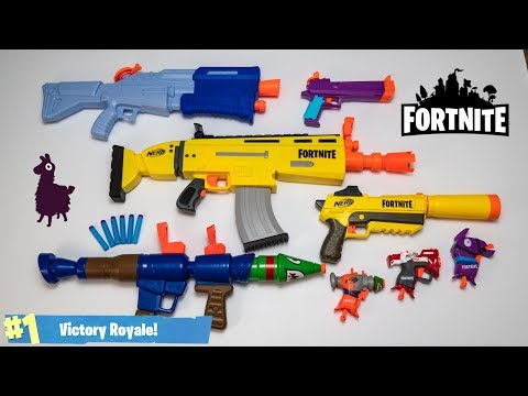 NERF FORTNITE UNBOXING