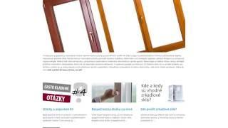 Eurookná a dvere sú vôbec z dreva? | INTER-OKNO #videoblog