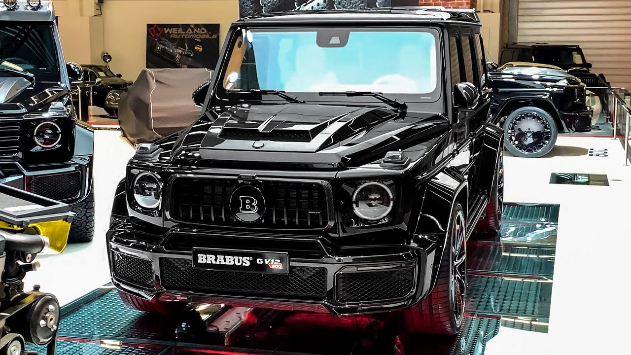 2020 Brabus G V12 900 Mercedes AMG G 63 Exclusive G Wagon from BRABUS - YouTube