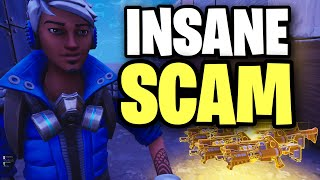 This is the craziest SCAM EVER FOUND!! 😱🤯 (Scammer Get Scammed) Fortnite Save The World