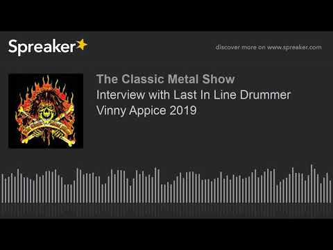 Interview with Last In Line Drummer Vinny Appice 2019