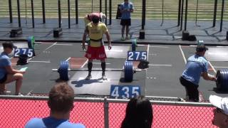 CrossFit Games 2014 MD 45-49 Day1, Event 1-3