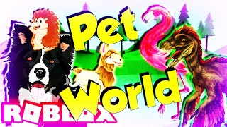 Roblox Pet World Alle Codes (Tiere, Dinosaurier, Drachen)
