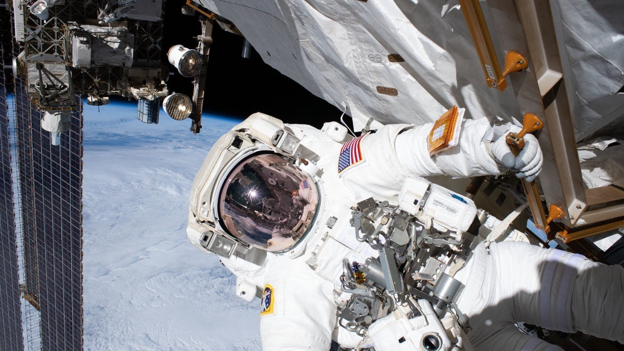 Spacewalk to Repair Alpha Magnetic Spectrometer Outside International Space Station on Jan. 25, 2020 - NASA