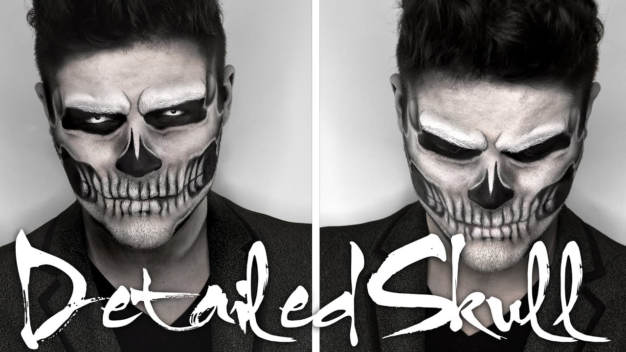 Lady Gaga Skull Makeup | Halloween Tutorial | Alex Faction - YouTube