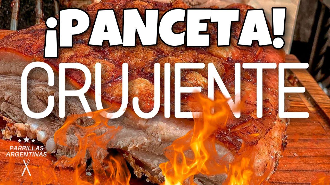 ¡PANCETA CRUJIENTE! 🔥 (La MEJOR del 2021) | Parrillas Argentinas #Short.