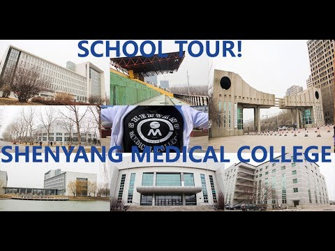 MY SCHOOL TOUR | STUDY IN CHINA | SHENYANG MEDICAL COLLEGE #LiNC
