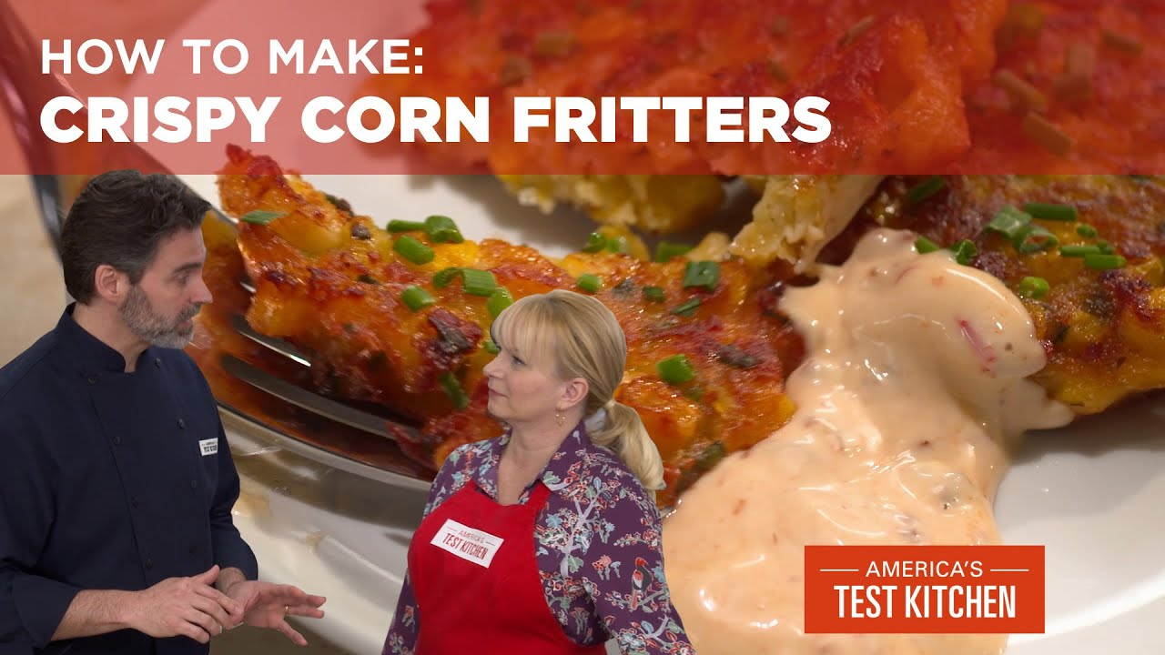 How to Make Crispy Corn Fritters