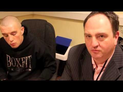 STEVE GOODWIN ANNOUNCES JOE MULLENDER SIGNING (WITH RICHARD CLARK) / iFILM LONDON