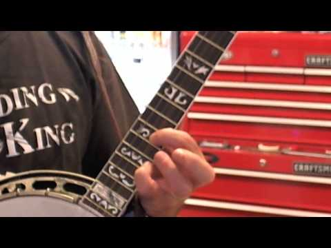 LOTW  Banjo Lessons: Up the neck  Frets 12 and above