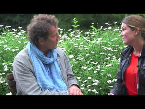 Monty Don from BBC and Gardeners World about swedish gardens and swedish gardeners