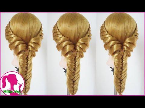 Hairstyles - Hướng Dẫn Cách Tết Tóc Đơn Giản Cho Bạn Gái