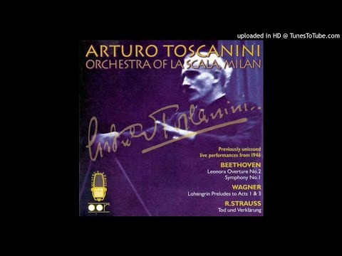 Lohengrin - Prelude To Act 1 (A.Toscanini - Lucerne 1946)
