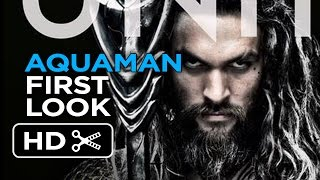 Aquaman - Poster First Look (2018) Jason Momoa Movie HD