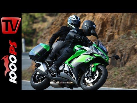 Kawasaki Z1000SX Test 2017 - Fahreindruck, Technik, Fazit, Preis