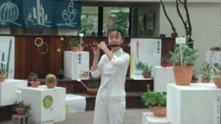 梆笛小女童-  陳麗如-13歲-國中一年級- 陽明春曉-青年公園演奏