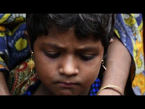Refugee family hunters bring hope to Rohingya children