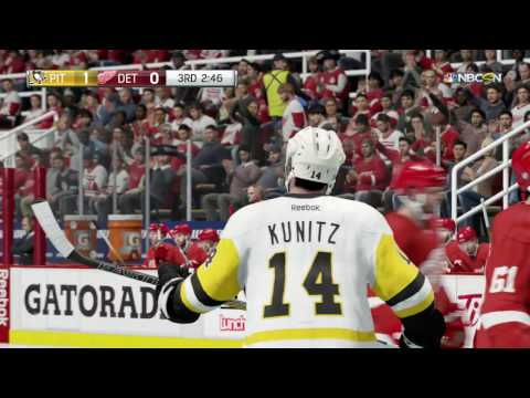 NHL 17 (PS4) - 2016-17 - Game 42 @ Red Wings