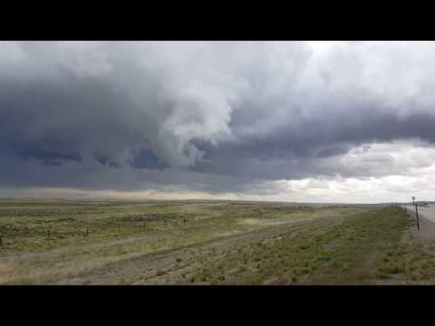 Funnel Cloud Spotted Forming Near Wyoming Town