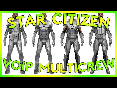 Star Citizen Alpha 2.5 | MULTICREW VOIP | Part 225 (Star Citizen 2016 PC Gameplay)