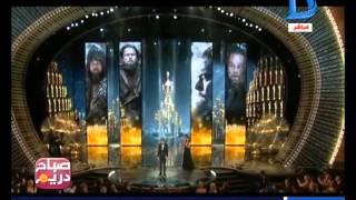 "صباح دريم|تحقق حلم ليوناردو دي كابريو بجائزة أحسن ممثل فيلم   "" The Revenant """