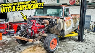 Converting Our Old, Abandoned Pickup Truck Into A SUPERCAR (YES, REALLY!)
