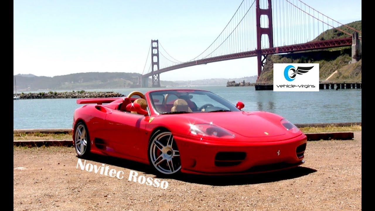 2004 Ferrari 360 Novitec Rosso Review Youtube