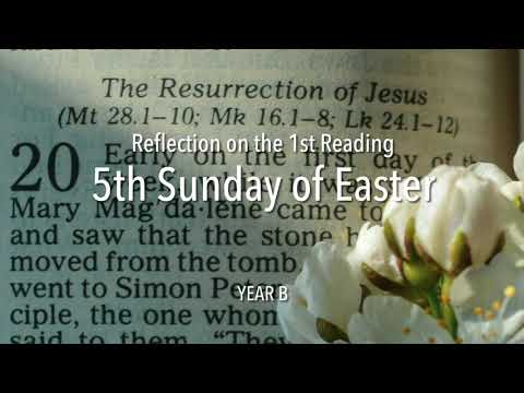 Reflection on the 1st Reading for Mass - 5th Sunday of Easter