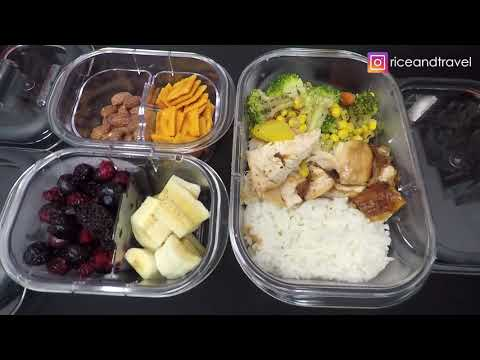 unboxing-rubbermaid-brilliance-10-piece-set-and-sample-meal-prep