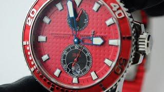 Швейцарские часы Ulysse Nardin Maxi Marine Diver.(, 2015-11-24T14:11:28.000Z)