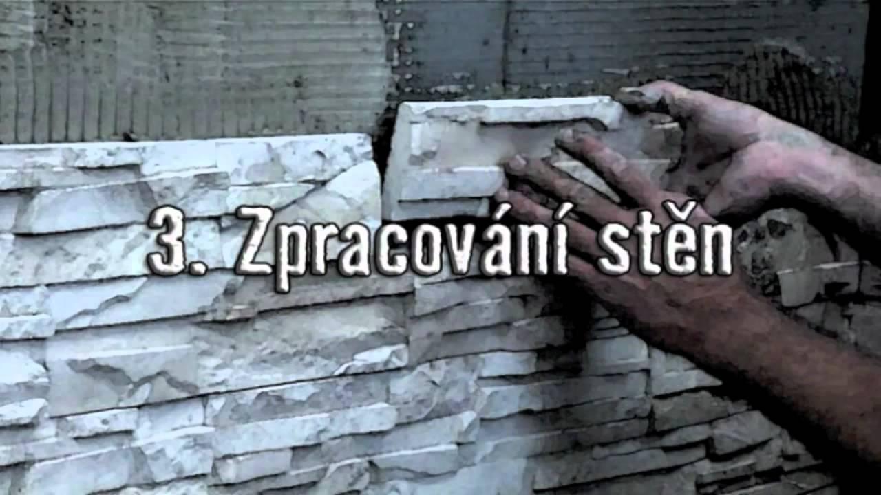 Čím lepit kamenný obklad