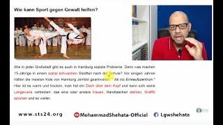 Learn German B2 - 038 - Sport gegen Gewalt تعلم كتابة موضوع عن  الرياضة ومحاربة العن�