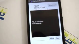 hc 05 bluetooth module interfacing with android mobile using atmega16 by ablab solutions
