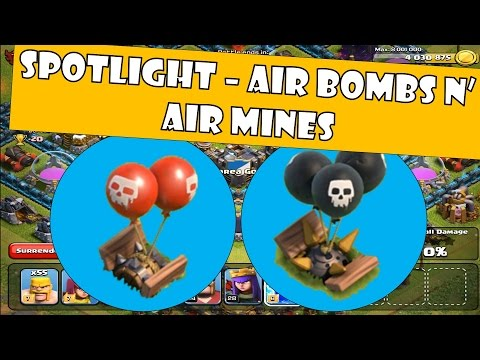 Clash Of Clans - Air Mines N' Air Bombs (Defensive Strategy)
