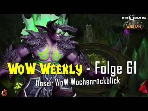 """WoW Weekly - KW 9 (2017)   Patch 7.2 PTR Build #23657, Erfolg """"Aufsteigende Macht"""" und mehr!"""